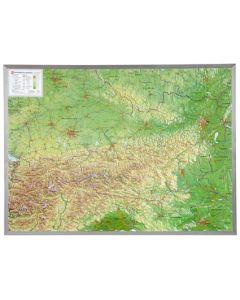 3D Reliefkarte Österreich