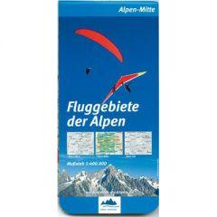 Fluggebiete der Alpen Mitte