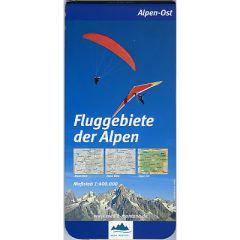 Fluggebiete der Alpen Ost